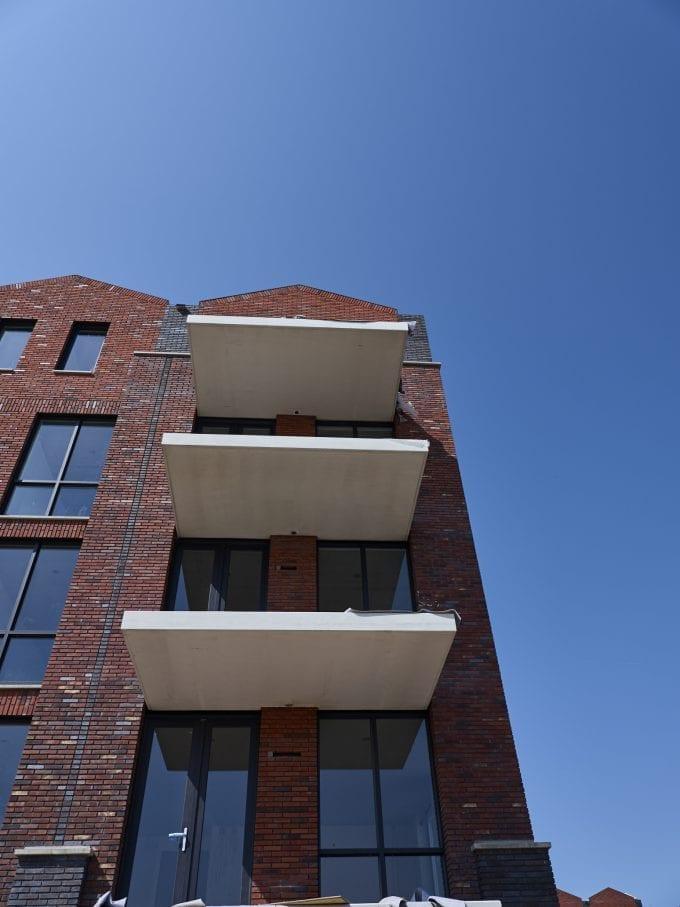 Woontorens Spaarndam Van den Berg Beton